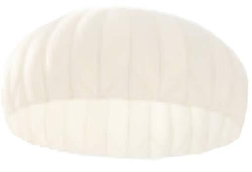 Unbekannt Fallschirm Kappe DIA Seide weiss gebraucht Sichtschutz Sonnenschutz Partydeko