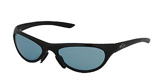 Smith Bubba Sonnenbrille Shiny Black/Light Blue