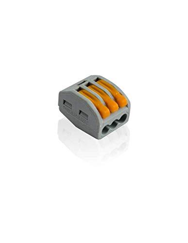 243/808 Wago 8/conducteur Connexion Socket Bornes 0,8/Qmm