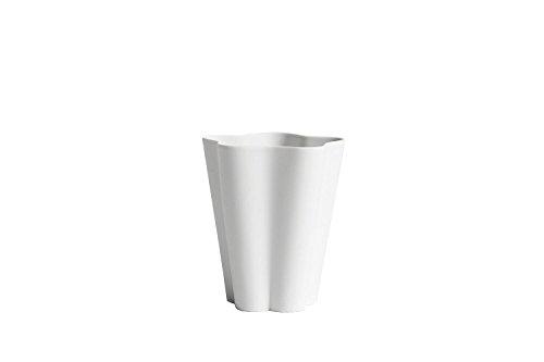 Clara Vase (HAY - Iris Vase - grau-weiß - S - Clara Von Zweigbergk)