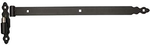 KOTARBAU Ladenband 600 mm Kloben Bandrolle Kugel Torband Türband Torscharnier Türscharnier Gartentorscharnier Ladenbänder Scharnier Links Rechts Top