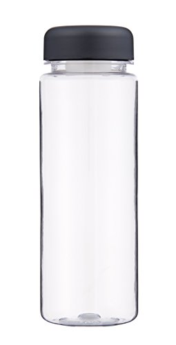 Rivers Drinkware Leak Proof Unisex Outdoor Travel Water Bottle available in Clear - Small