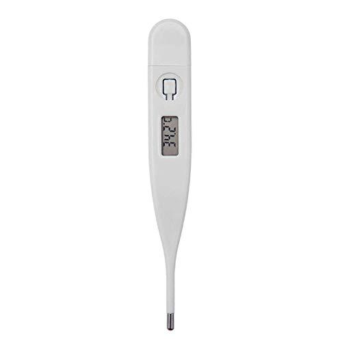 TLfyajJ LCD Display Baby Kind Oral Achselthermometer Digitales Temperaturmessgerät Weiß