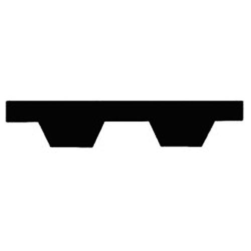 Thomafluid Zahnriemen für Profil T5 aus PUR (endlos), Profil: T5, Riemenbreite: 16 mm, Wirklänge: 390 mm, 3 Stück