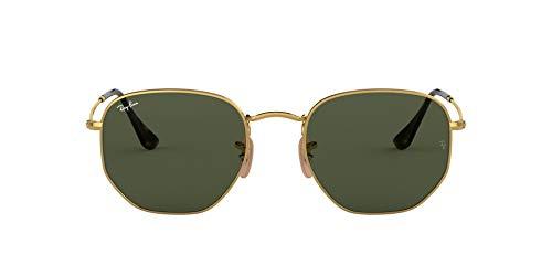 Ray-Ban Herren Sonnenbrille Rb 3548n Gold/Green, 54