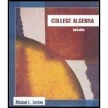 College Algebra by Michael Levitan (2006-01-01)