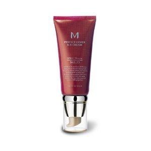 Missha M Perfect Cover BB Cream Crema hidratante con maquillaje y FPS 42/PA+++ (número 23/beige natural) 50 ml