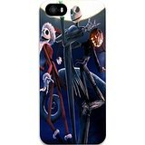 BEST Coque Iphone 5S Cass Couvertures Tim Burtons The Nightmare Before Christmas Mobile Wallpaper Custom PC Hard Cas Couverture Pour Coque Iphone - 5S Y4C1RH