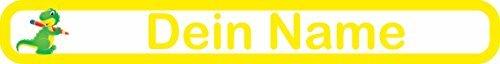 10 Buntstifte Jumbo Buntstifte Rex mit Namen und Wunschmotiv (Dino)