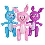 SHOP AND GATHER 3Ostern Bunnies 61cm Bunny Aufblasen Blow up Dekoration (3) (Morgen Für Halloween-kostüme)