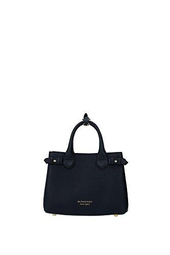 Sac--main-Burberry-Femme-Cuir-Bleu-Check-Burberry-et-Or-4023703-Bleu-12x20x26-cm