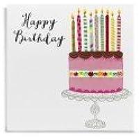 Janie Wilson Neon Gioielli di auguri: compleanno rosa–nuovo in Cello (nj03)