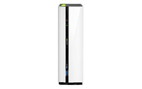 'QNAP ts-128NAS Mini Tour Ethernet/LAN schwarz, weiß-Server Speicher-(2000GB, Festplatte, Festplatte, SATA, 2000GB, 3,5)