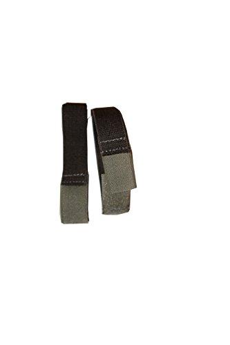 BootYo! Haken & Schleife blousing Strumpfband/Boot-blouser ideal für Wandern, Radfahren, Camping, Uniformen, Polizei, Hockey, Armee, Air Force, Marines, Marineblau Einheitsgröße grau (Rothco Force Air)