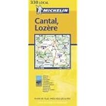 Carte routière : Cantal - Lozère, N° 11330
