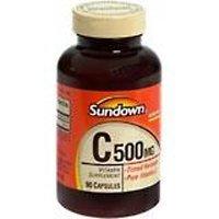 Sundown Naturals Vitamin C, 500 mg, 90 Capsules by Sundown Naturals
