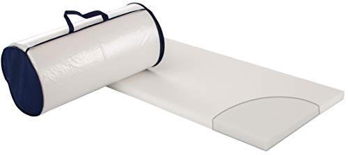Träumeland Reisebettmatratze GOOD, feiner Softschaum mit Baumwoll-Polyester-Bezug, durchgehende Liegefläche, Größe60 x 120 x 4 cm - Baumwoll-polyester-matratze
