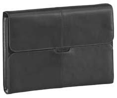 TARGUS 25,9cm 10,2Zoll Hughes Leather Netbook Slipcase schwarz (Case Notebook Leather Targus)