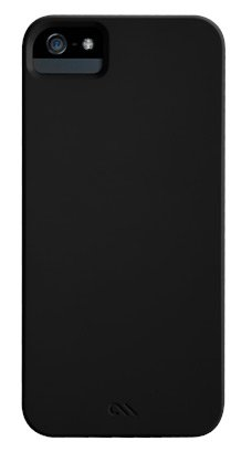 Black Protective Case Mate Barely There Cases for iPhone 5/5s - Black