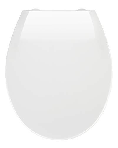 Wenko Premium WC-Sitz Kos - Toilettensitz, mit Absenkautomatik, 37 x 44 cm,...