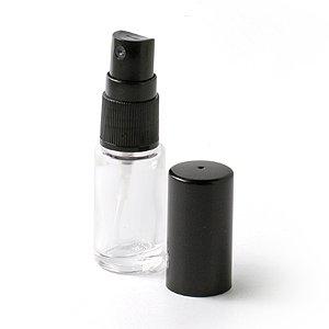Vaporisateur de parfum de sac - Vapo de sac Verre et spray noir 10ml