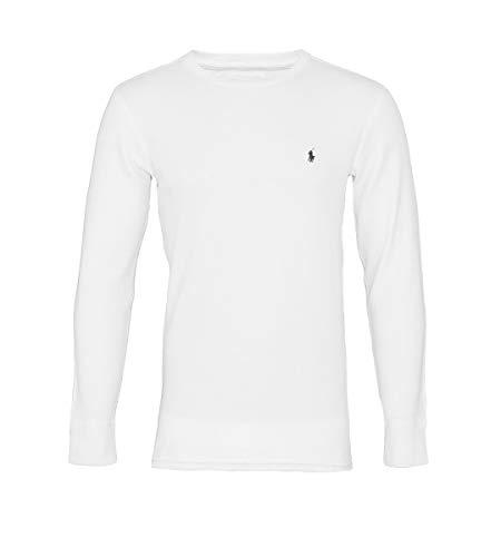 Ralph Lauren Longsleeve Pullover 714687799 004 White S18-RLLS1 Größe M thumbnail