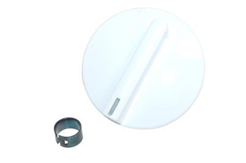 Weiß Timer Knob (Smeg 764971710 Backofen- und Herdzubehör/Knöpfe und Schalter/Kochfeld / Oven Weiß Timer Control Knob)