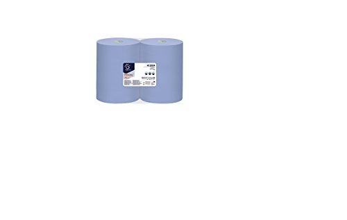 Superior Wiper Roll blau 3-lg. Putztuchrolle 36x37,3cm 2 Rollen à 500 Blatt