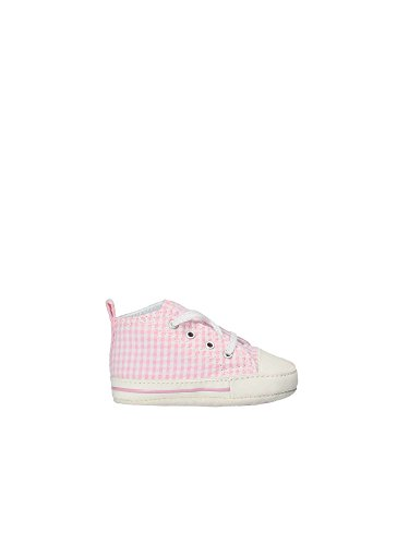408341d857 Converse Scarpe Sneakers Chuck Taylor First Star Hi Neonata Rosa 861018C- PINK