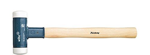 Wiha Schonhammer rückschlagfrei, sehr hart mit Hickory-Holzstiel (39010) 40 mm