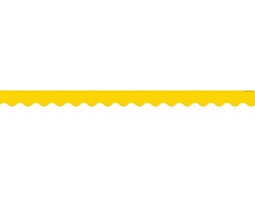 Teacher Created Ressourcen Gelbe Gold gewelltem Rand (4599) Gelb Gold Trim