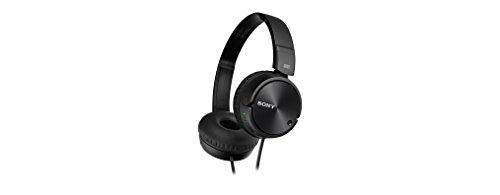 Sony Kopfhörer MDR-ZX110NA faltbarer Bügelkopfhörer mit Digital Noise Canceling, schwarz - 5