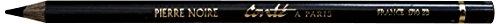 Conté à Paris 2269 Steinstift, Skizzenstift, schwarz, 1 x 1 x 17,8 cm