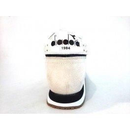 20117058701C0351 Diadora Heritage Sneakers Damen Stoff Weiß White