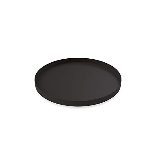 Cooee Design Tray Tablett, Edelstahl, Schwarz 30 cm Design Tray
