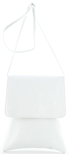 histoireDaccessoires - Pochette Cuir Femme - PO155734-GE-Capucine Blanc
