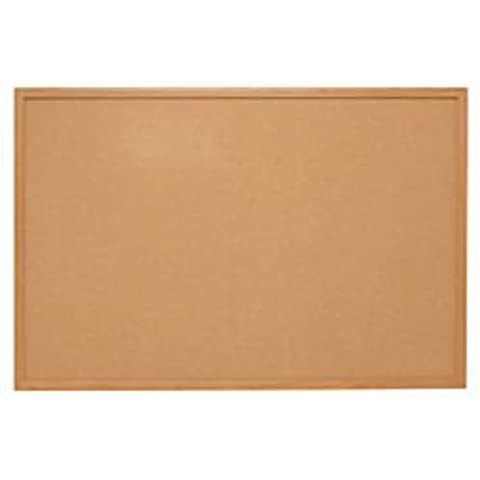 Quartet 48 x 36 Inches Basic Cork Bulletin Board, Oak Finish Frame (85352) by Quartet