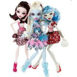 pen Set - X4482 Draculaura, Abbey Bominable, Ghoulia Yelps (Monster High Abbey Bominable)