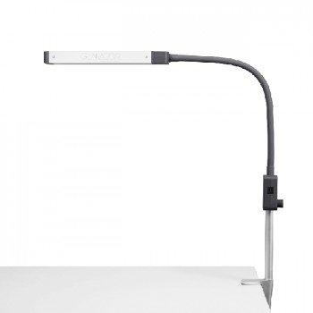 Die Glamcor Mono-Lampe, einarmige Tageslicht-LED-Lampe mit Tischklemme - Salon Lash Kit