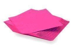 Serviette Papier Rose - Lot de 20 serviettes en papier