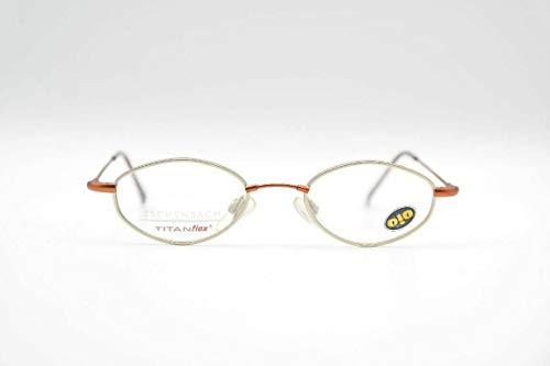 Eschenbach 3516 40 Kinderbrille Titanflex 40[]17 130 Gold Braun oval Brille Neu