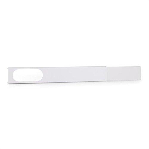 Klarstein Kit d'étanchéité pour fenêtres coulissantes Accessory • sur climatiseur Mobile • Convient aux Ouvertures de fenêtres de 67 à 131 cm • PVC • Gris Clair