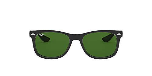 Ray-ban rj9052s montature, nero (shiny black/green), 47 unisex-bambini