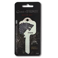 Game Of Thrones - STARK - UL2 House Key, will need to be cut