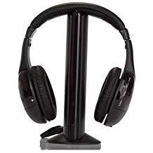 TOOGOO (R) 5-in-1 Hi-Fi cuffie Wireless per HDTV, TV, VCD, PC, MP3, MP4, CD, DVD con FM Radio