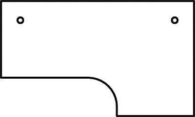 HAMMERBACHER VOS82/6 Schreibtisch L-Form buche,SI
