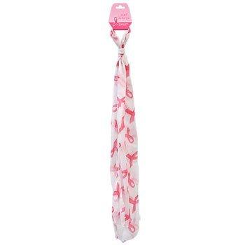 Breast Cancer Awareness Scarf Pink Ribbon Survivor Patient Gifts Light Pink