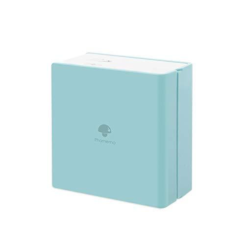 Phomemo, mini stampante wireless Bluetooth tascabile per carta portatile, stampante termica istantanea, compatibile con iOS e Android, per studio, pittura, viaggi, divertimento Ice Cream Green