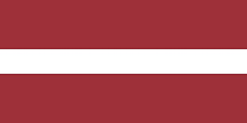 magFlags Flagge: Medium Lettland | Querformat Fahne | 0.96m² | 70x140cm » Fahne 100% Made in Germany