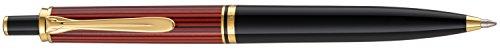 Pelikan 923086 Druckkugelschreiber Souverän K 400, schwarz/rot